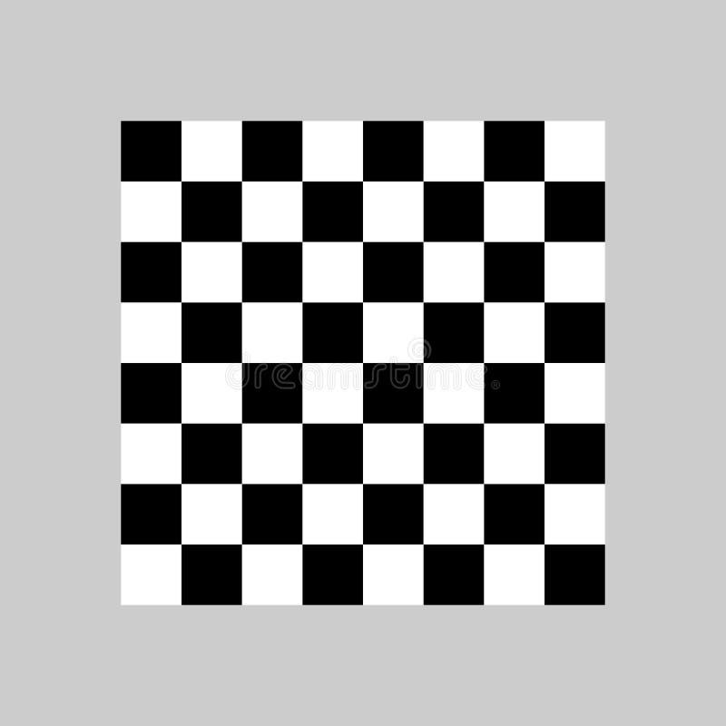 板,棋,棋盘,比赛象 传染媒介例证,平的设计 向量例证