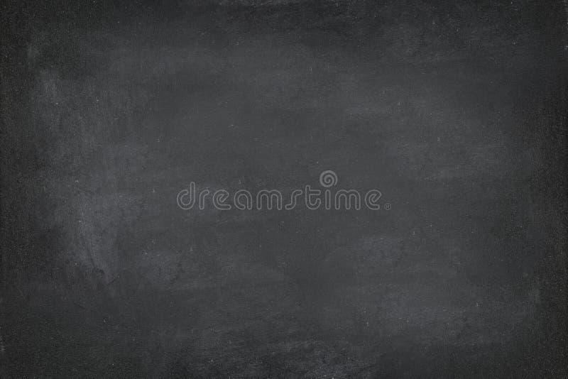 黑黑板黑板纹理背景 免版税图库摄影