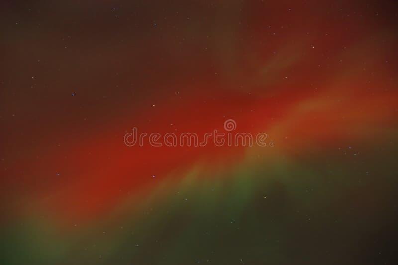 极光borealis 免版税图库摄影