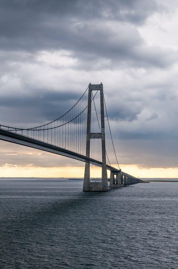 极大的传送带桥梁 免版税图库摄影
