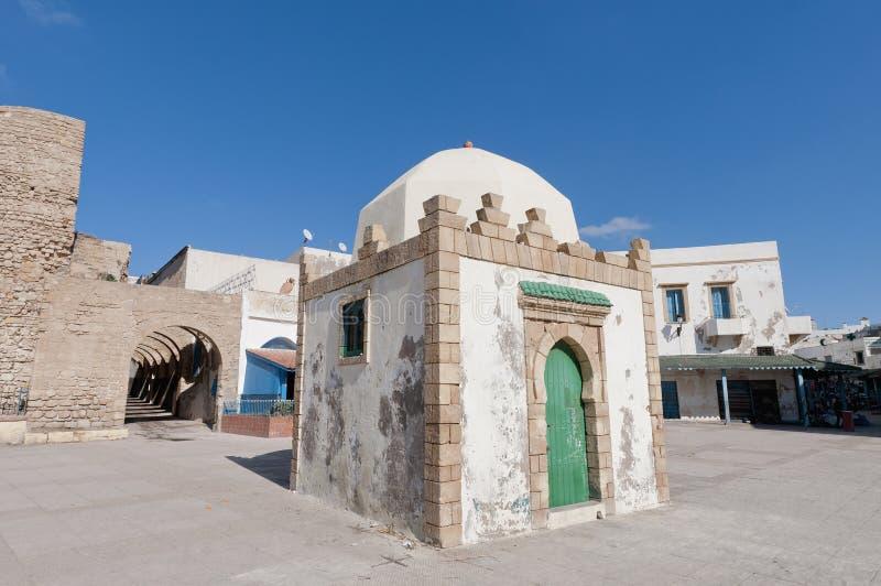 极大的摩洛哥清真寺safi 免版税库存图片