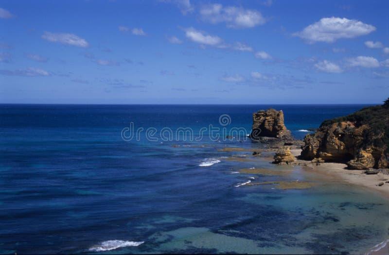 极大的横向海洋路 免版税库存照片