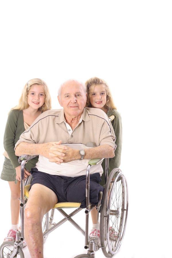极大的祖父 库存照片
