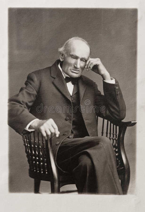 极大的祖父 免版税库存照片