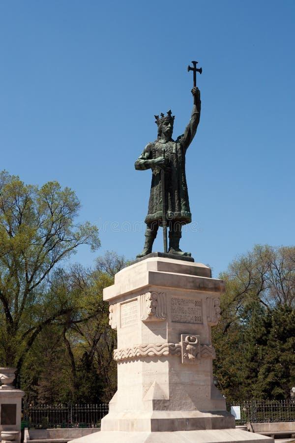 极大的纪念碑斯蒂芬 免版税库存图片