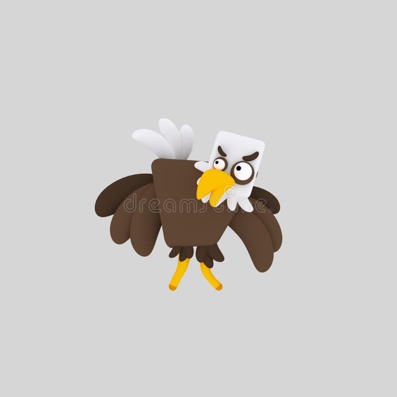 极大的老鹰 库存例证