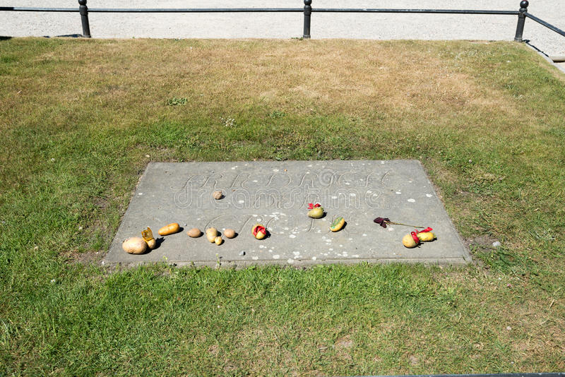 极大frederick的坟墓 图库摄影