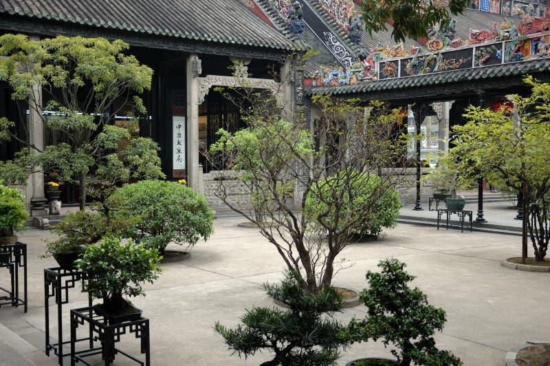 结构中国传统 免版税图库摄影