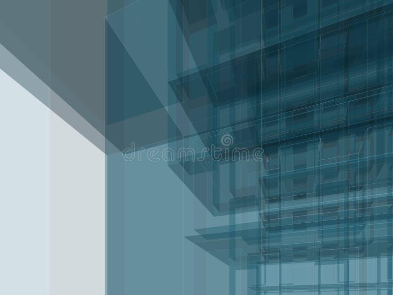 结构大厦 皇族释放例证
