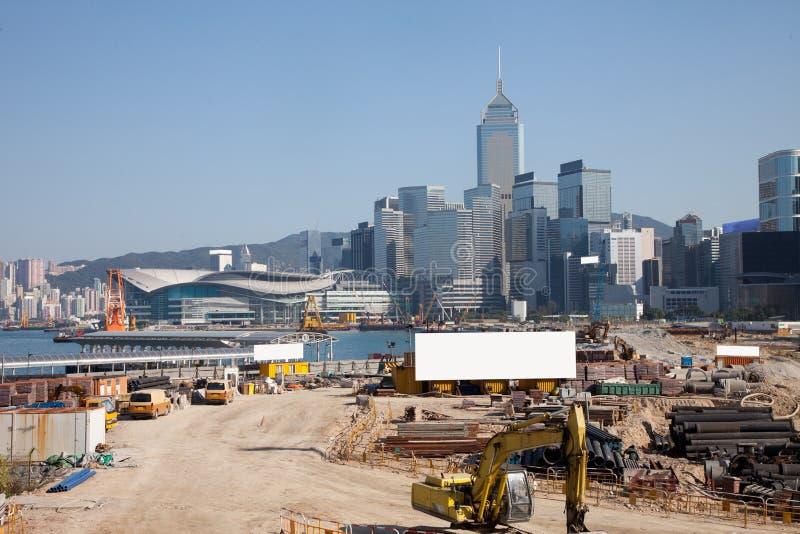 构建香港 库存照片