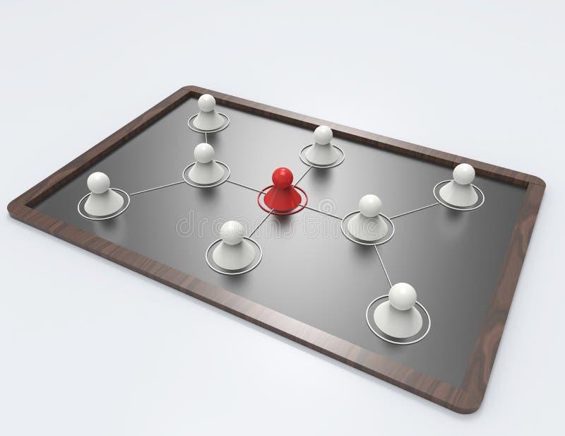 构思设计例证网络向量 库存例证