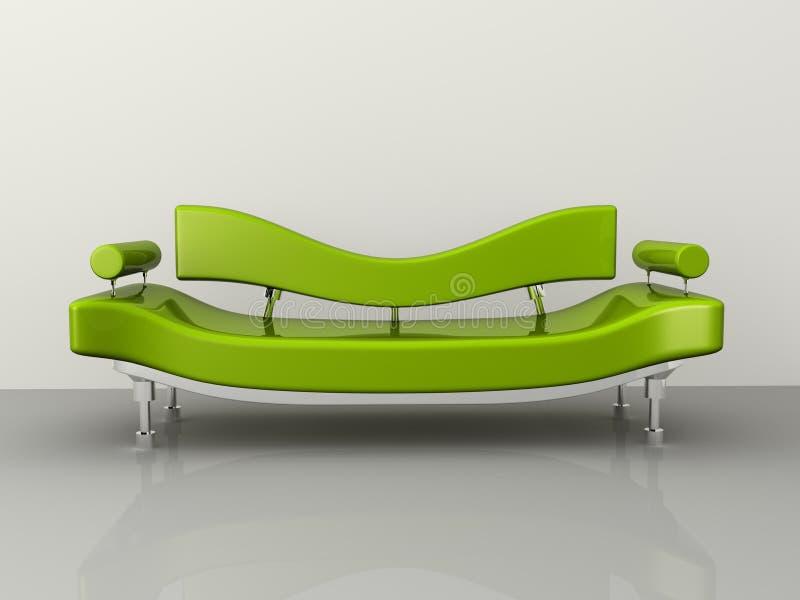 构思设计沙发 库存例证