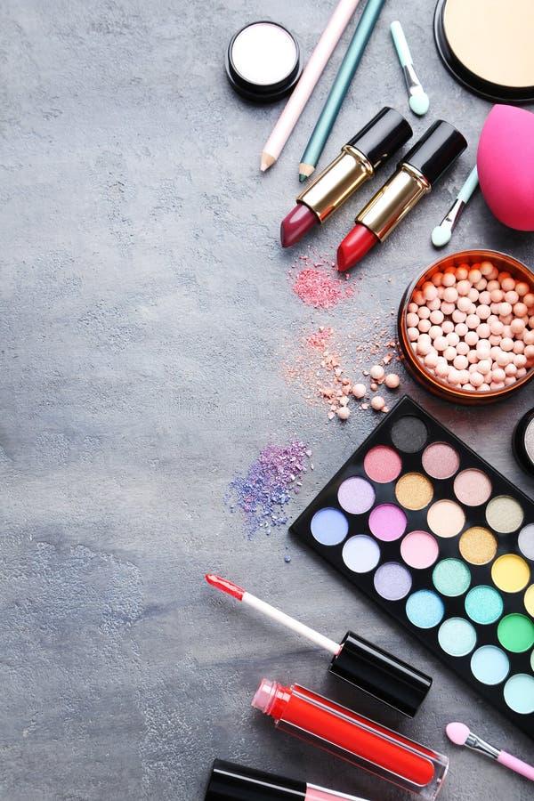 构成化妆用品 库存照片