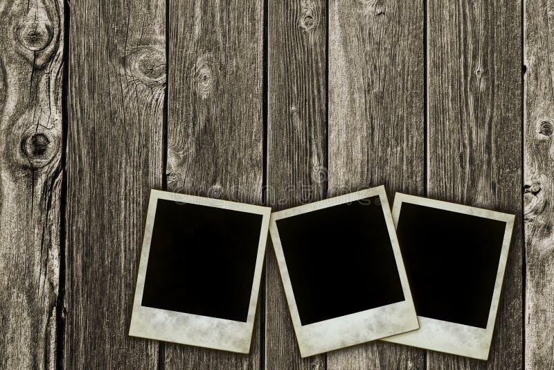 构成即时照片 库存图片