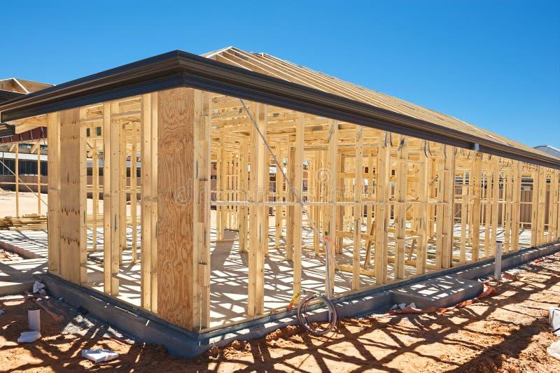 构成家庭新的建筑 库存照片