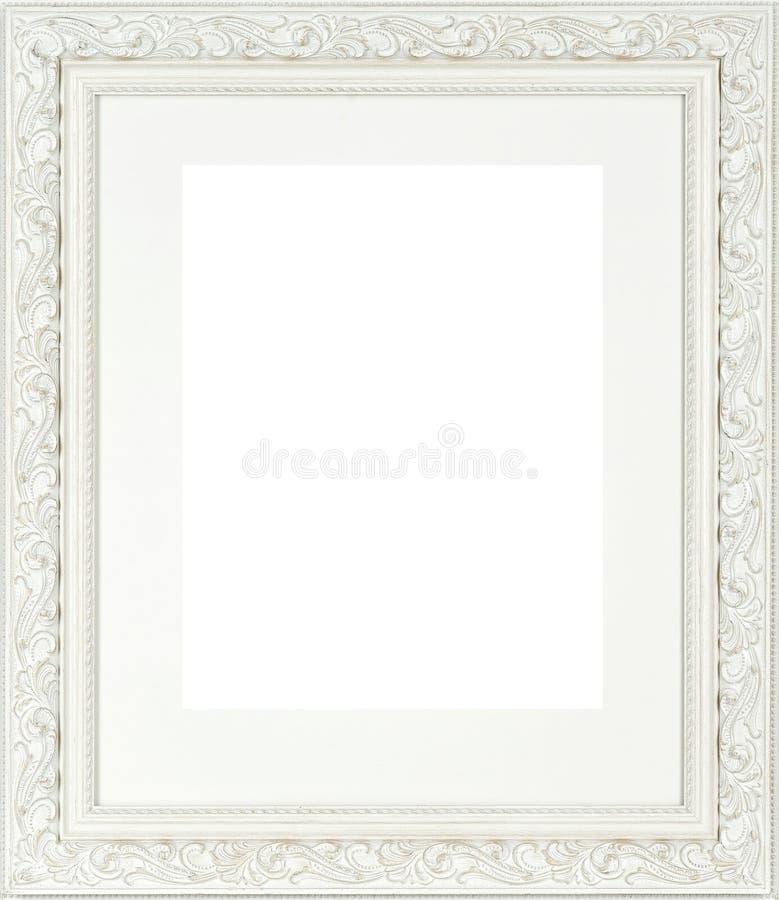构成查出的图象白色 图库摄影
