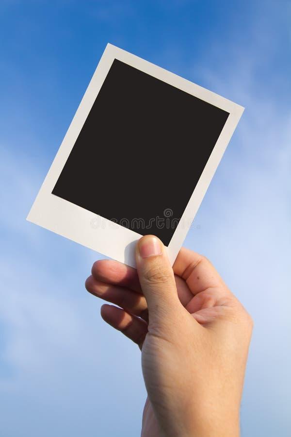 构成照片人造偏光板 免版税库存图片