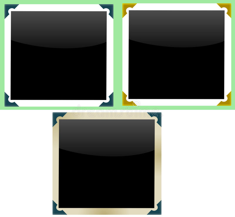 构成照片 库存例证