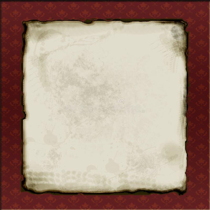 构成的老纸张 皇族释放例证