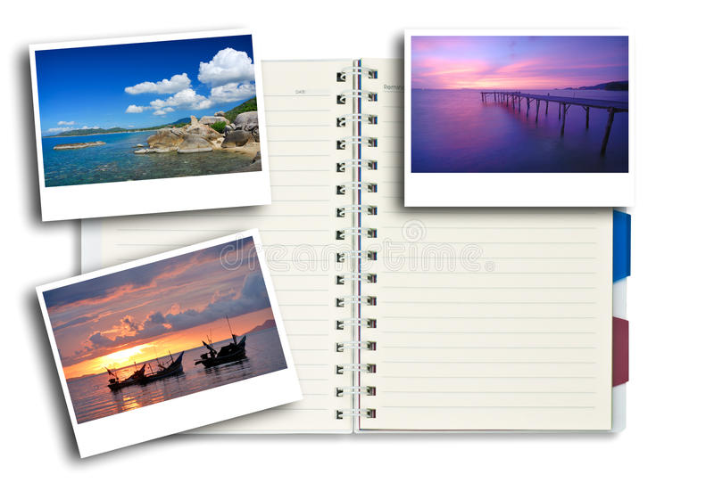 构成笔记本照片 库存照片