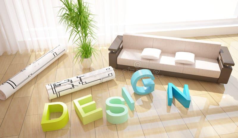 构成设计内部 图库摄影