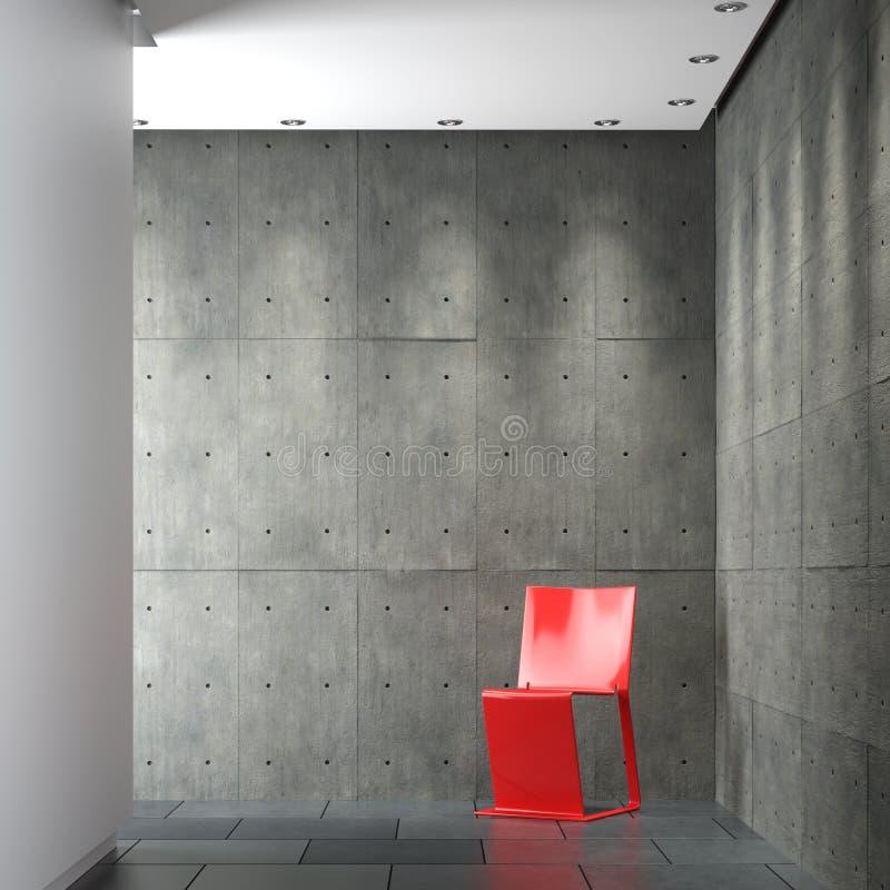 构成设计内部minimalistic 向量例证