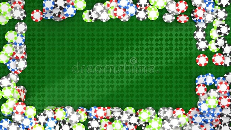 Download 构成轮盘赌的娱乐场筹码 库存例证. 插画 包括有 查出, 红色, 颜色, 照亮, 机会, 困境, 概念, 商业 - 15682864