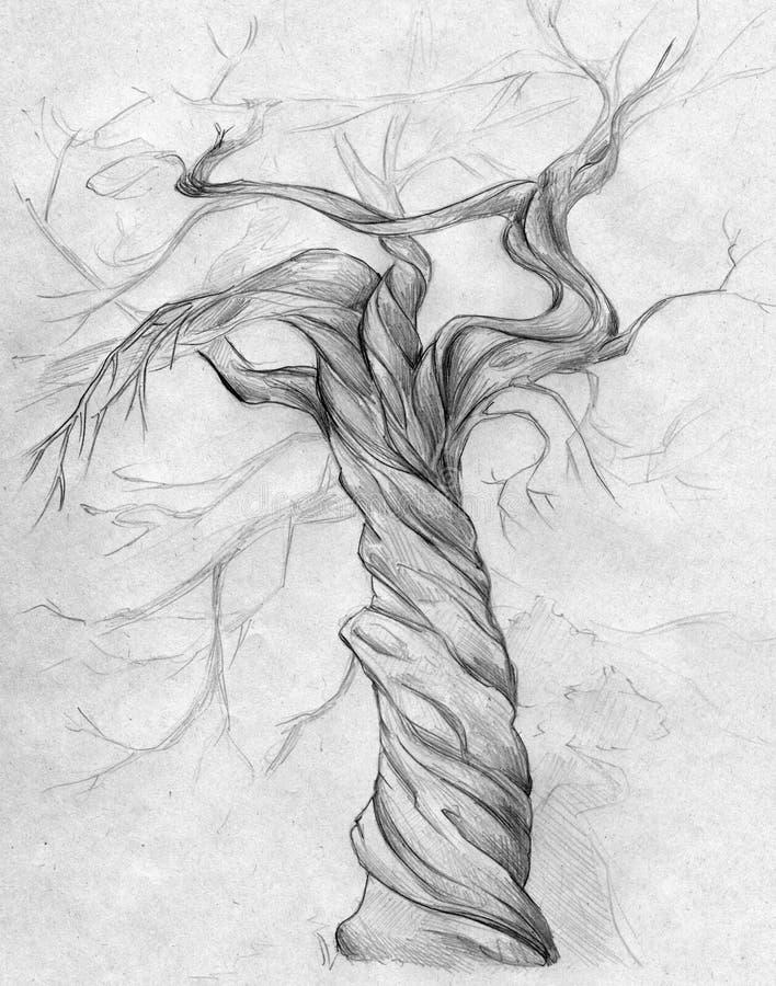 结构树扭转了 皇族释放例证