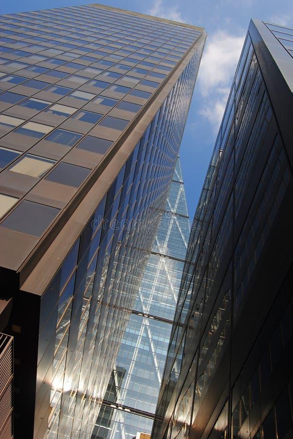 结构现代的伦敦 库存照片