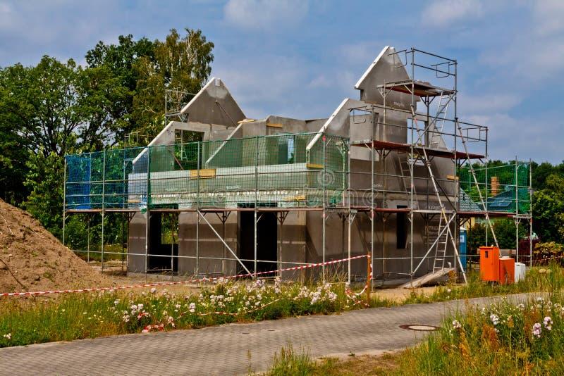 构筑房子 图库摄影
