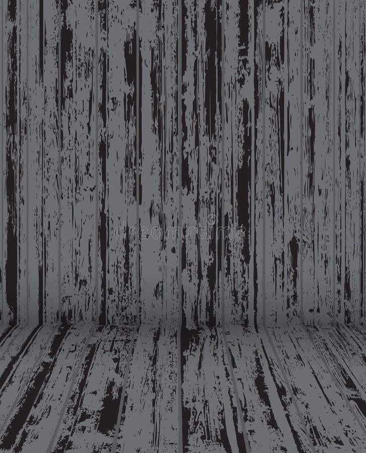 结构背景门要素金属老农村纹理葡萄酒大商店木头 向量例证