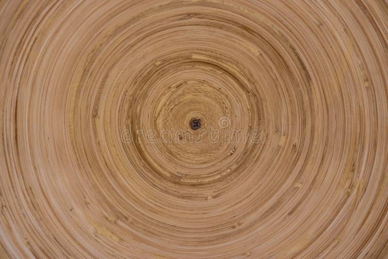 构造显示年轮背景的树干 免版税库存图片