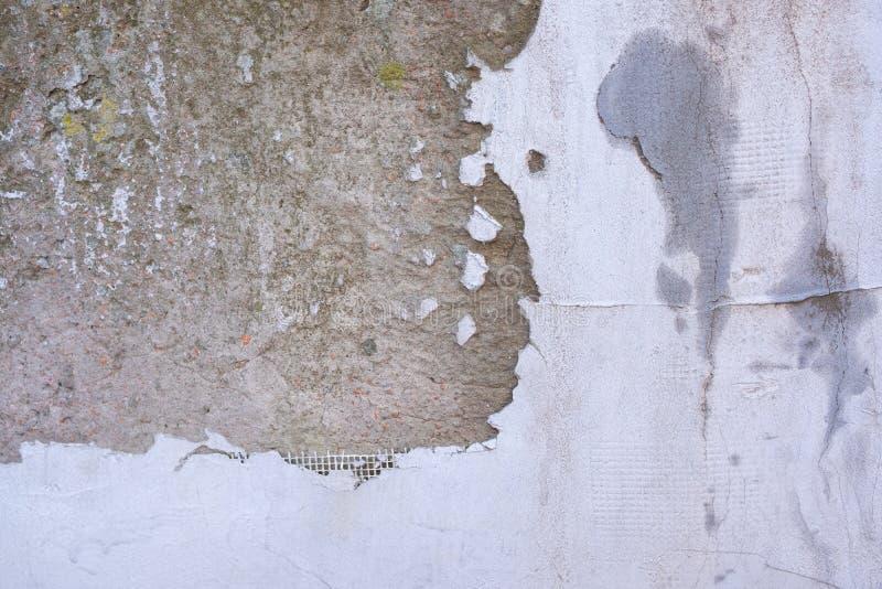 构造被暴露的聚集结束表面,地面石被洗涤的地板 图库摄影