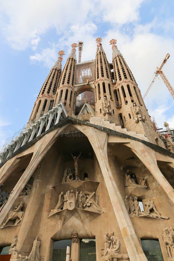 结构巴塞罗那 免版税库存图片