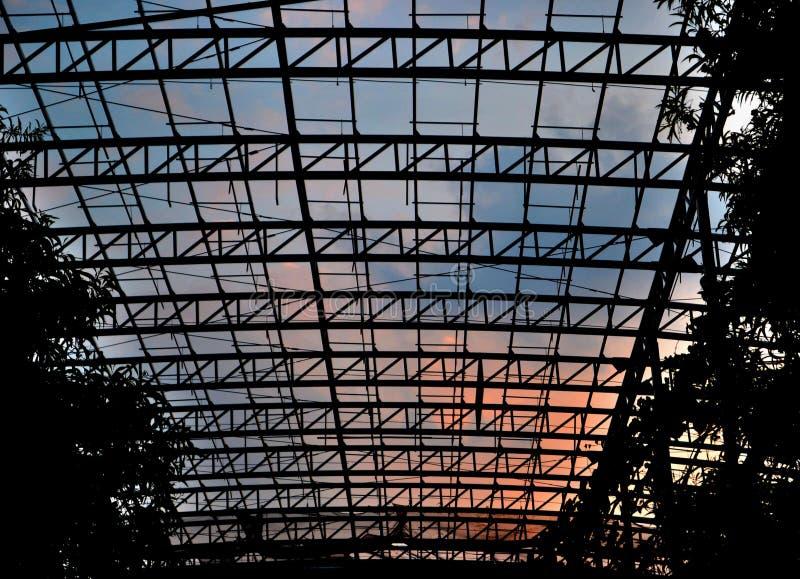 结构& x28; Silhouette& x29; 免版税图库摄影