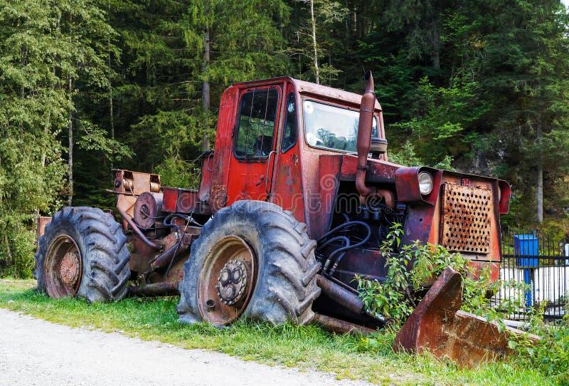 林业拖拉机 库存照片