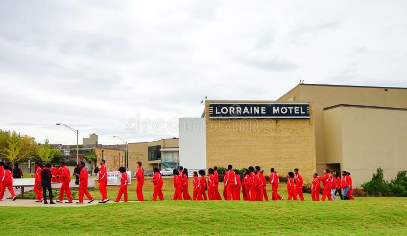 洛林汽车旅馆 免版税库存照片