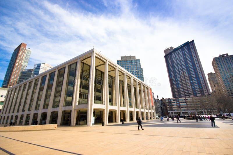林肯中心NYC 免版税图库摄影