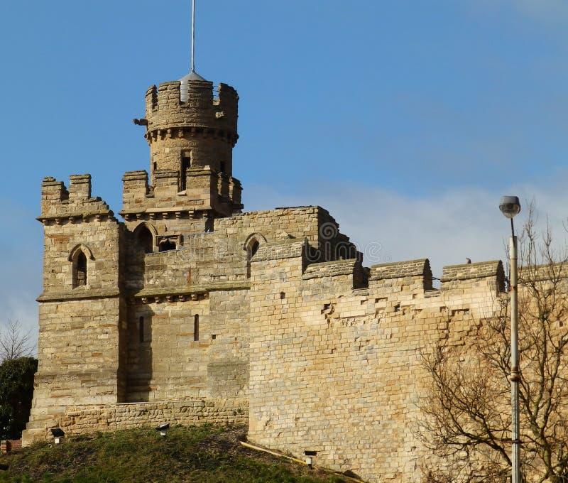 林肯城堡 库存照片