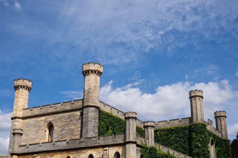 林肯城堡 免版税图库摄影