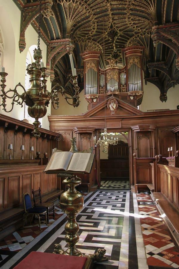 林肯学院教堂,牛津 免版税库存图片