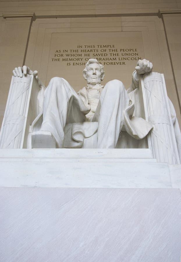 林肯纪念品 库存图片
