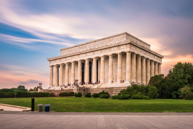 林肯纪念堂 库存图片