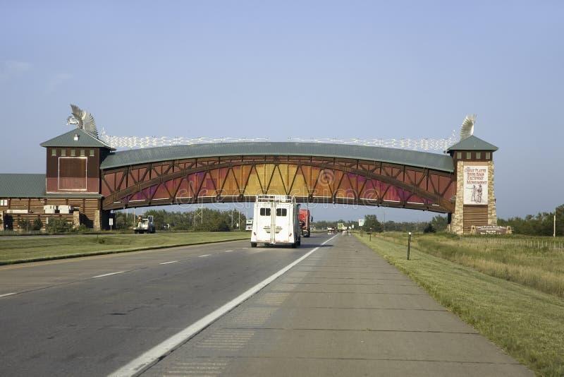 林肯高速公路 免版税库存图片