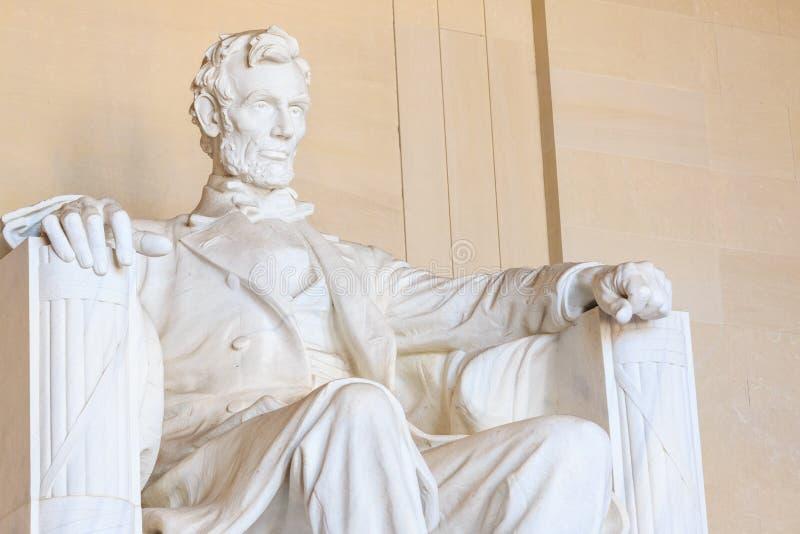 林肯,总统的遗产 dc华盛顿 库存照片