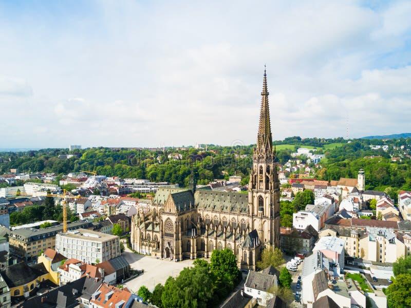 林茨新的大教堂,奥地利 免版税库存照片