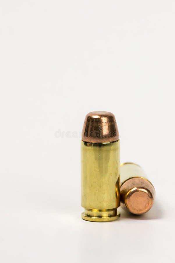 2枚子弹 库存图片