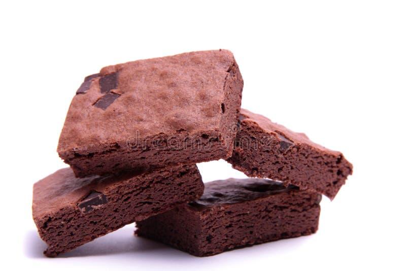 果仁巧克力巧克力 免版税库存图片