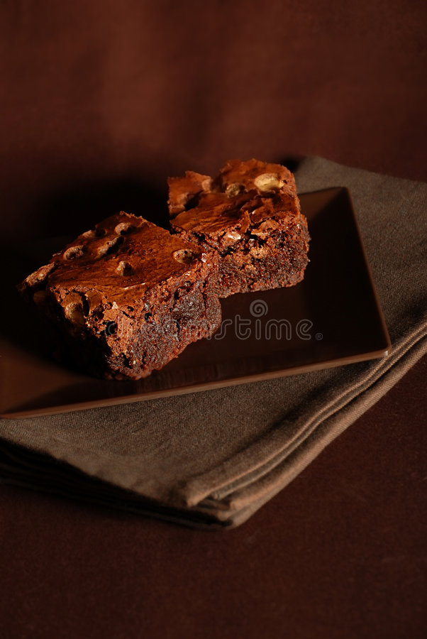 果仁巧克力 向量例证