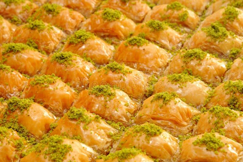 果仁蜜酥饼 库存照片